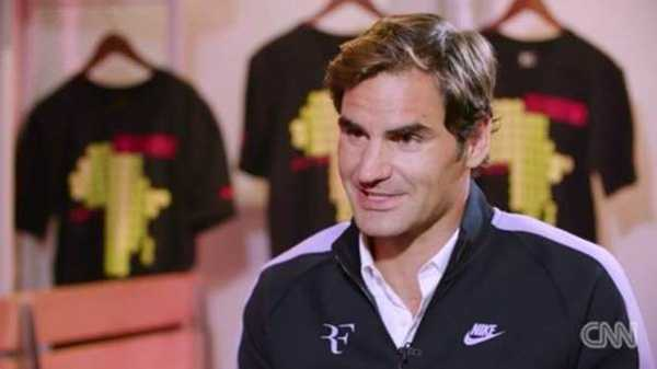 "Roger Federer im CNN-Interview: ""French Open immer noch eine Option"" - Foto: CNN International"
