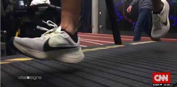 "CNN Vital Signs: Nikes Marathon Projekt ""Breaking 2"" - Quelle: CNN International"