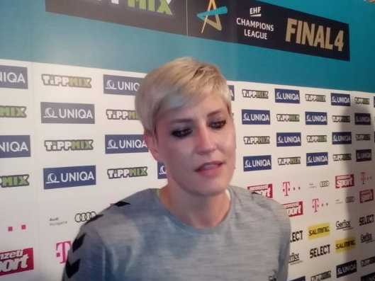 Handball Frauen EHF Champions League: Anja Althaus (Vardar Skopje) im SPORT4FINAL-Video-Interview -Foto: SPORT4FINAL