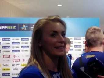 Handball Frauen EHF Champions League: Isabelle Gullden (CSM Bukarest) im SPORT4FINAL-Video-Interview - Foto: SPORT4FINAL