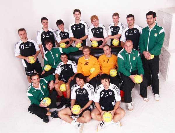 SC DHfK Leipzig (im Bild von 2007) feiert Jubiläum 10 Jahre Handball - Foto: SC DHfK Leipzig