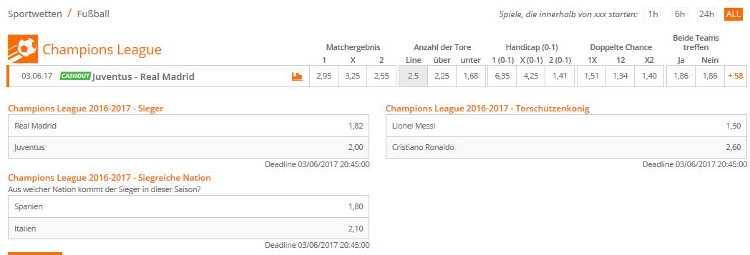 Tauchen RB Leipzig und RB Salzburg bald auch im Wettmenü zur Champions League auf?