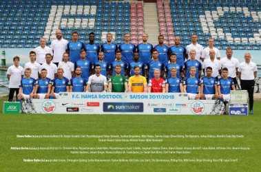 FC Hansa Rostock Mannschaftsbild_2017-2018 - Foto: FC Hansa Rostock