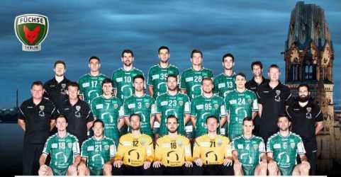 Füchse Berlin - Handball Bundesliga Saison 2017-2018 - Foto: Füchse Berlin
