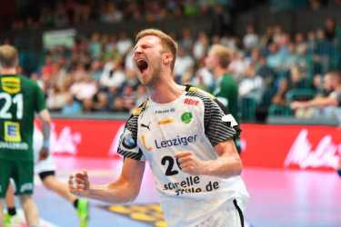 Philipp Weber - GWD Minden vs. SC DHfK Leipzig - Foto: Rainer Justen