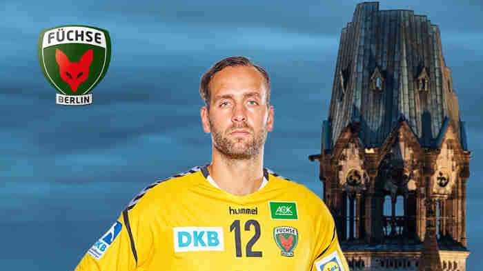 Silvio Heinevetter - Handball Bundesliga - Foto: Füchse Berlin