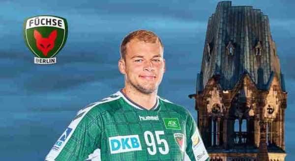 Paul Drux - Handball Bundesliga - EHF-Cup - Foto: Füchse Berlin