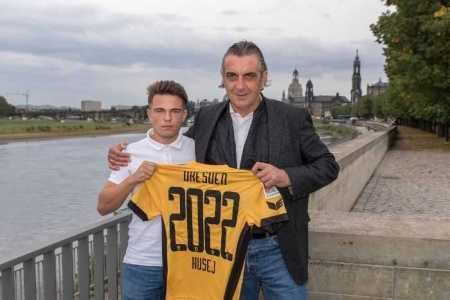 Vasil Kusej und Ralf Minge - Fußball Bundesliga - Dynamo Dresden - Foto: Dynamo Dresden/ Steffen Kuttner