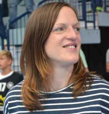 Katrin Engel - Thüringer HC - Handball Bundesliga - Verabschiedung am 10.09.2017 in Nordhausen - Foto: Hans-Joachim Steinbach