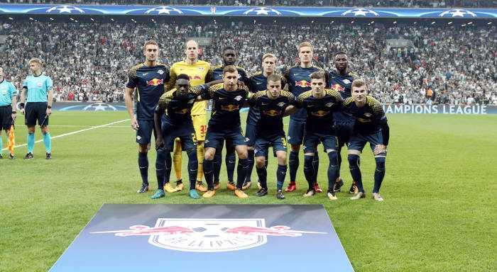 Fußball UEFA Champions League, Besiktas Istanbul vs. RasenBallsport Leipzig - Team RB Leipzig - Foto: GEPA pictures/Sven Sonntag