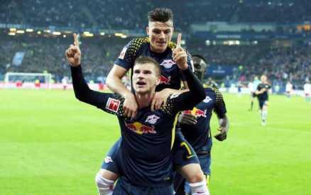 Deutsche Bundesliga, Hamburger SV vs. RasenBallsport Leipzig - Timo Werner (RB Leipzig) - Foto: GEPA pictures/Sven Sonntag