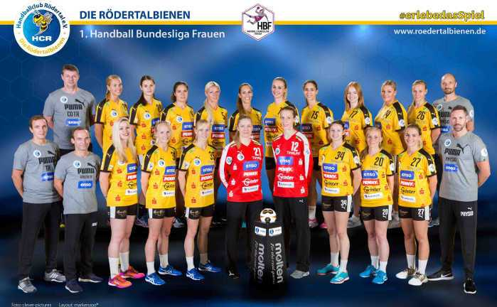 HC Rödertal - Handball Bundesliga - Saison 2017-2018 - Foto: HC Rödertal