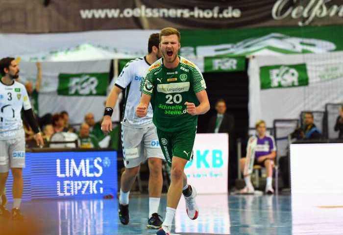 Philipp Weber - SC DHfK Leipzig vs. Füchse Berlin - Handball Bundesliga -