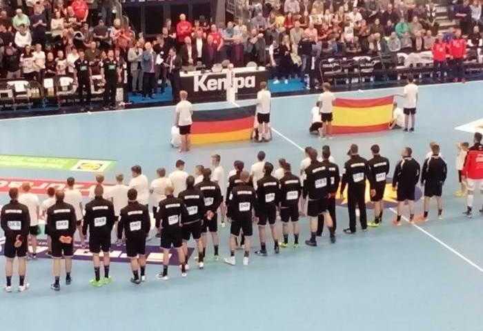Handball DHB bad boys - Testspiel Deutschland vs. Spanien am 28. Oktober 2017 in der Getec Arena Magdeburg - Foto: SPORT4FINAL