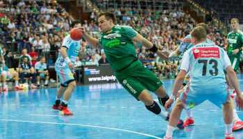 Benjamin Meschke - SC DHfK Leipzig - Handball Bundesliga - Foto: Karsten Mann