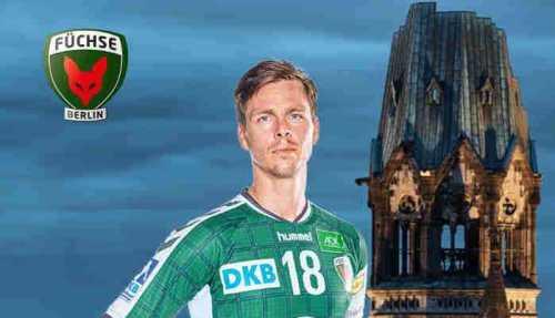 Hans Lindberg - Füchse Berlin - Handball Bundesliga - EHF-Cup - Foto: Füchse Berlin