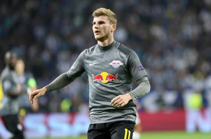 Fußball UEFA Champions League, FC Porto vs. RasenBallsport Leipzig - Timo Werner (RB Leipzig) - Foto: GEPA pictures/Roger Petzsche