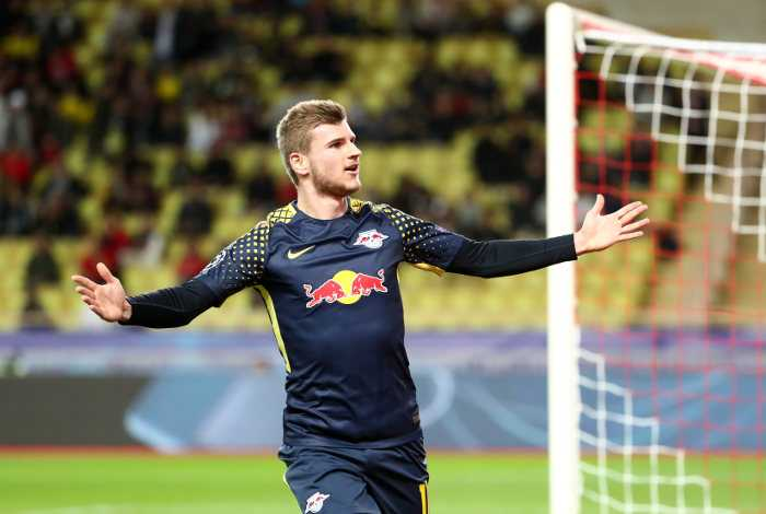 Fußball, UEFA Champions League, AS Monaco vs. RasenBallsport Leipzig - Timo Werner (RB Leipzig) - Foto: GEPA pictures/Roger Petzsche