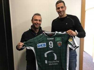 Bob Hanning und Stipe Mandalinic - Füchse Berlin - Handball Bundesliga - Foto: Füchse Berlin