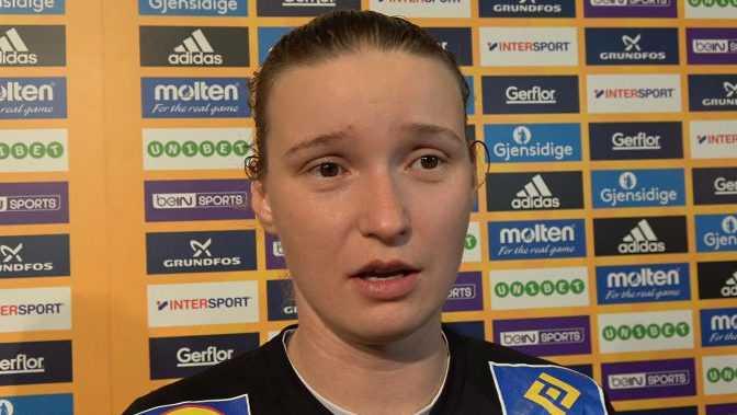 Amandine Leynaud - Handball WM 2017 Deutschland - Halbfinale Frankreich vs. Schweden - Foto: Jansen Media