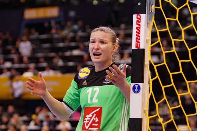 Amandine Leynaud - Frankreich - Handball WM 2017 Deutschland - Finale Frankreich vs. Norwegen - Foto: Jansen Media
