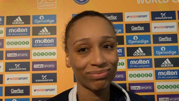 Beatrice Edwige - Handball WM 2017 Deutschland - Halbfinale Frankreich vs. Schweden - Foto: Jansen Media