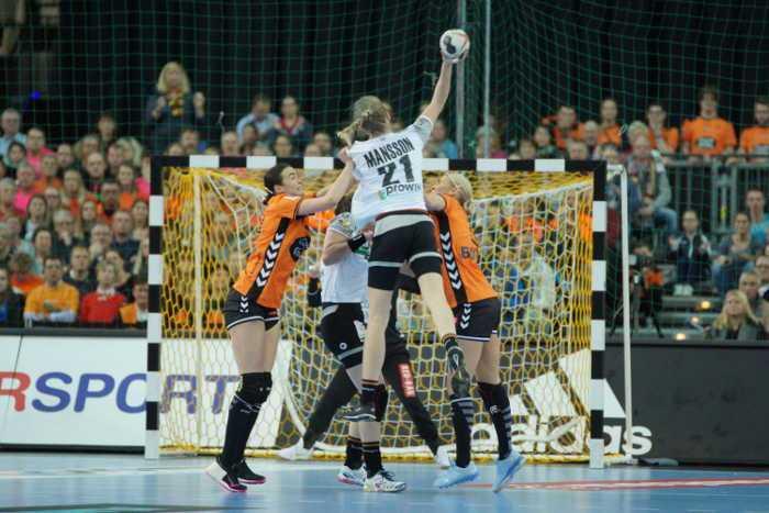 Handball WM 2017 - Deutschland vs. Niederlande - Arena Leipzig - Foto: Jansen Media