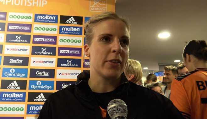 Danick Snelder - Handball WM 2017 Deutschland - Halbfinale Niederlande vs. Norwegen - Foto: Jansen Media