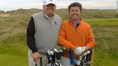 Donald Trump und Shane O'Donoghue - Foto: CNN International Living Golf