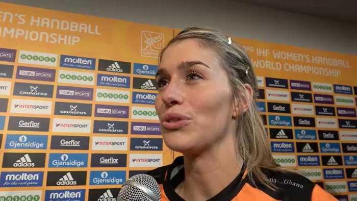 Estavana Polman - Niederlande - Handball WM 2017 Deutschland - Bronzemedaillen-Match Niederlande vs. Schweden - Foto: Jansen Media