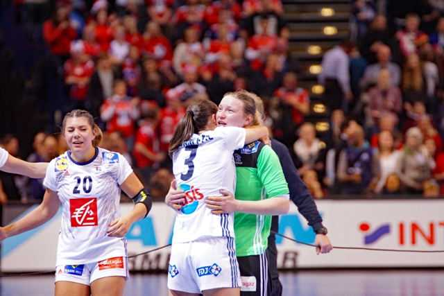 Weltmeister Frankreich - Handball WM 2017 Deutschland - Finale Frankreich vs. Norwegen - Foto: Jansen Media