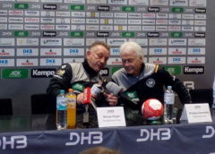 Michael Biegler und Wolfgang Sommerfeld - Handball WM 2017 Deutschland - DHB - Ladies - Foto: SPORT4FINAL
