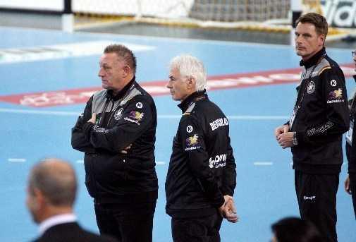 Wolfgang Sommerfeld und Michael Biegler - Handball WM 2017 Deutschland - Südkorea vs. Deutschland - Foto: Jansen Media