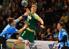 Niclas Pieczkowski - Handball Bundesliga -TV Hüttenberg vs. SC DHfK Leipzig - Foto: Rainer Justen