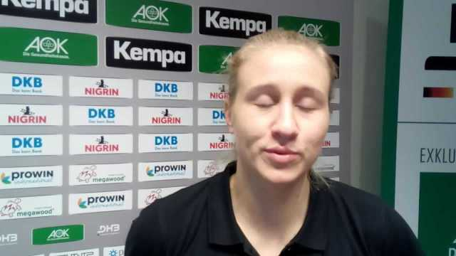 Handball WM 2017 Deutschland: Saskia Lang zur Ladies Bilanz - Foto: SPORT4FINAL