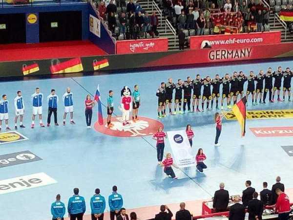 Handball EM 2018 - Deutschland vs. Slowenien - Arena Zagreb - Foto: SPORT4FINAL