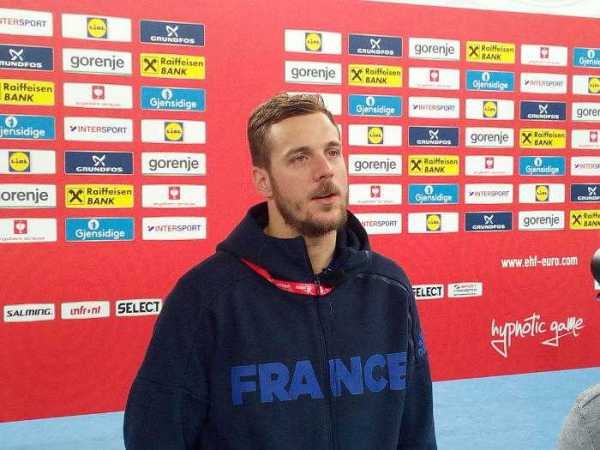 Handball EM 2018, Kentin Mahe, Frankreich, Medientag, Arena Zagreb, SPORT4FINAL LIVE, Halbfinale, Nikola Karabatic - Foto: SPORT4FINAL