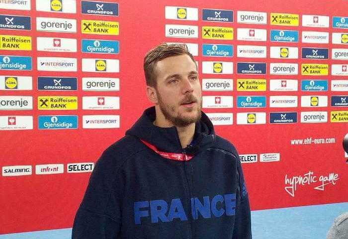 Handball EM 2018, Kentin Mahe, Frankreich, Medientag, Arena Zagreb, SPORT4FINAL LIVE, Halbfinale, Nikola Karabatic