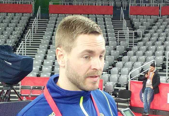 Handball EM 2018 - Andreas Palicka - Schweden - Media Call am 25.01.2018 in Arena Zagreb - Foto: SPORT4FINAL