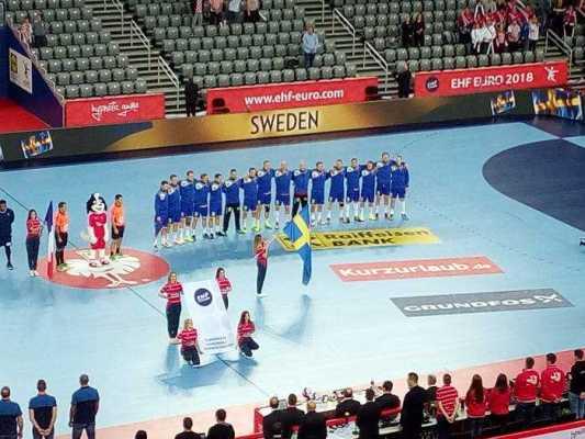 Handball EM 2018 - Schweden vs. Frankreich - Arena Zagreb - Foto: SPORT4FINAL