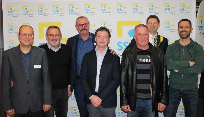 Stadtsportbund Leipzig Präsidium 2018 - Foto: Stadtsportbund Leipzig