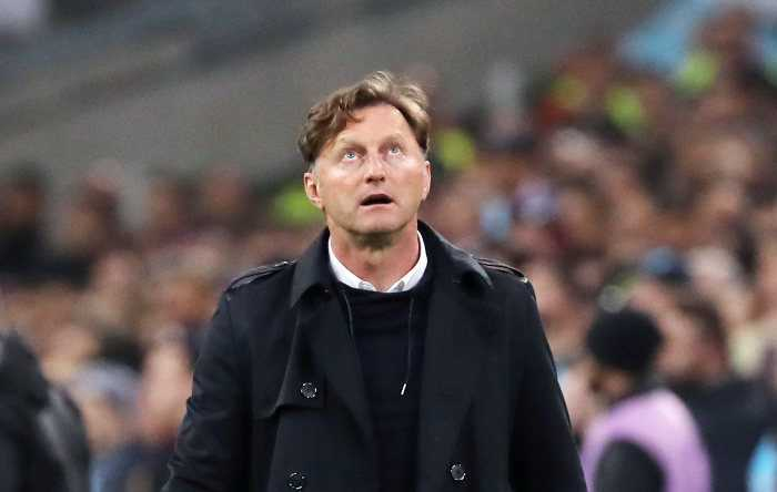 Fußball UEFA Europa League, Olympique Marseille vs. RasenBallsport Leipzig - Ralph Hasenhüttl (RB Leipzig) - Foto: GEPA pictures/Sven Sonntag