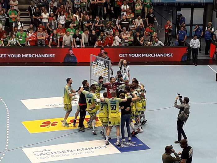 Ottostadt Magdeburg EHF Cup Finals – 1. Halbfinale: Saint-Raphael Var Handball vs. SC Magdeburg - Foto: SPORT4FINAL