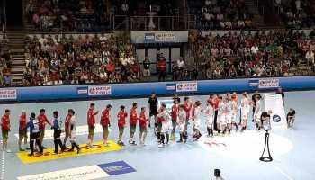 SC Magdeburg vs. Frisch Auf Göppingen - Handball EHF Cup Finals 2018 - Spiel um Platz 3 - Foto: SPORT4FINAL