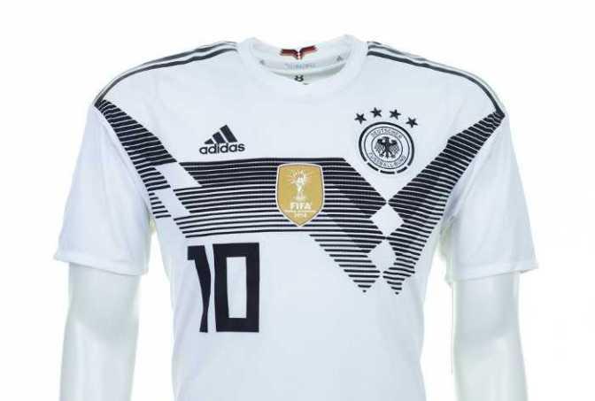 Fußball WM 2018: Deutschland Shirt – Quelle: FIFA