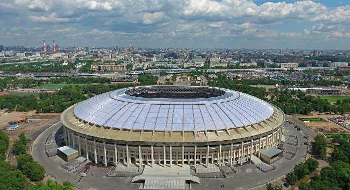 Fußball WM 2018 Russland: Moskau Luzhniki Stadion - Foto: FIFA