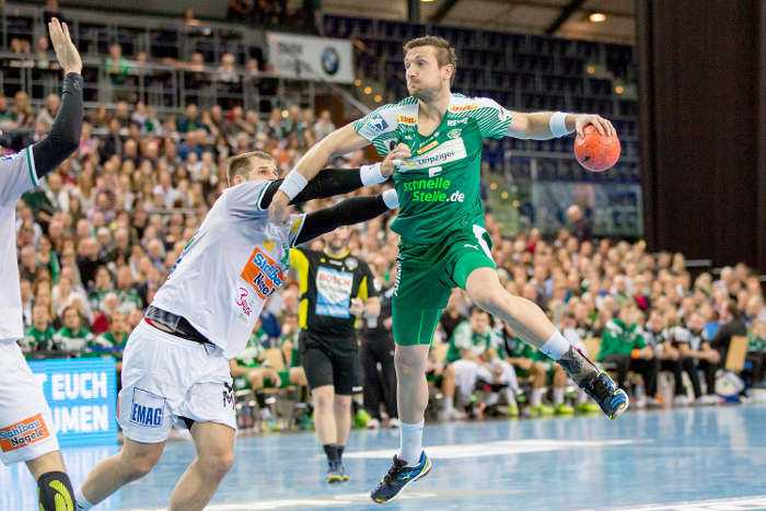 Andreas Rojewski - SC DHfK Leipzig - Handball Bundesliga - Foto: Karsten Mann