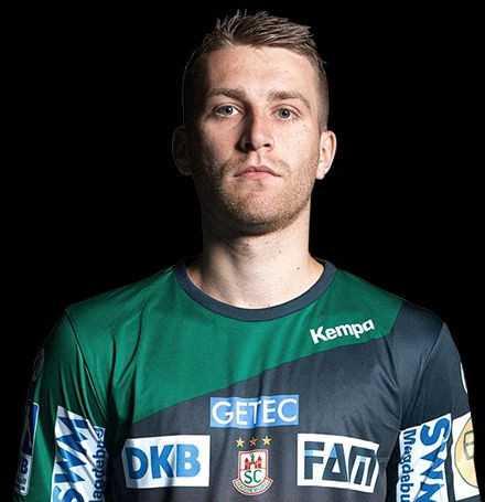 Lukas Mertens - SC Magdeburg - Handball Bundesliga - EHF Cup - Foto: SC Magdeburg