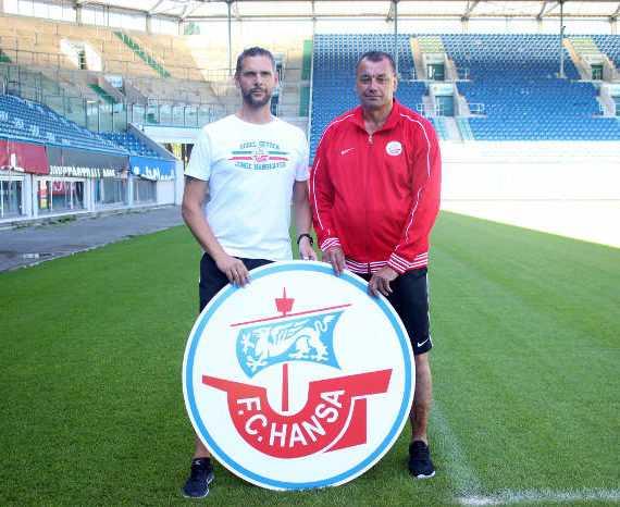 FC Hansa Rostock - Stefan Karow - Vladimir Liutyi - Foto: FC Hansa Rostock