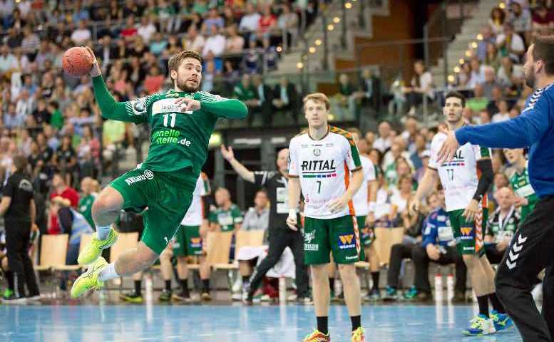 Lukas Binder - SC DHfK Leipzig - Handball Bundesliga - Foto: Karsten Mann
